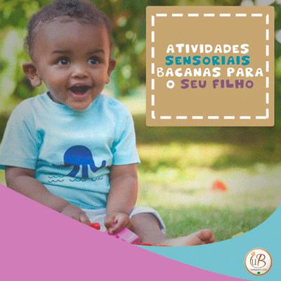 Atividades sensoriais bacanas para bebês