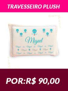 Travesseiro Plush